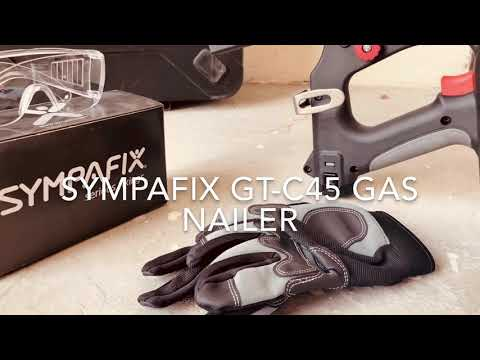 Sympafix GT-C45 Nail Gun - Short