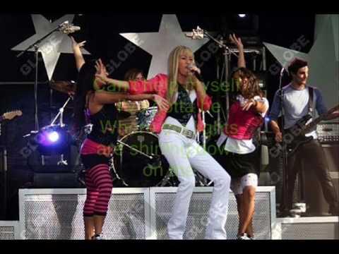 Spotlight Hannah Montana with lyrics