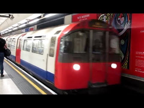 London Underground Piccadilly Line (Heathrow Airport - Kings Cross/St. Pancras) - 2nd August 2018