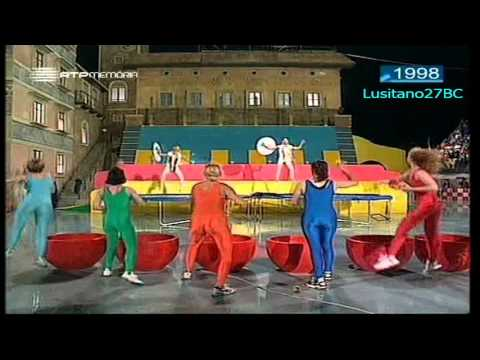 Jogos Sem Fronteiras - 1998 #3 - Trento (I) - Jeux Sans Frontières - RTP Memória