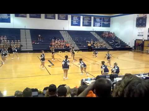 Moorefield High School WVSSAC Region 2 A Cheer