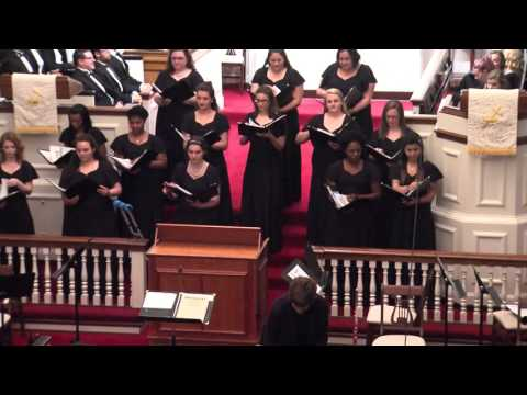Camerata and Chamber Singers, Longwood University 4-27-2017