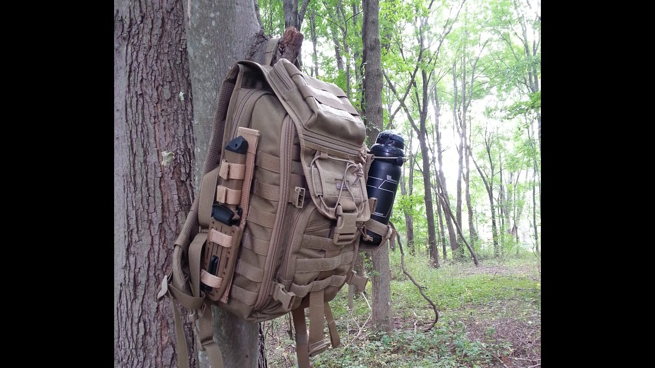 Episode-6: Maxgear X-7 Tactical Laptop Backpack Review - YouTube