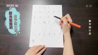 [英雄出少年]阳光姐姐的数字统计课:数字统计员 CCTV少儿 - YouTube