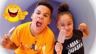Kids Pretend Play Workout Routine | FamousTubeKIDS
