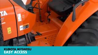 Kubota M7040SUHD Machinery