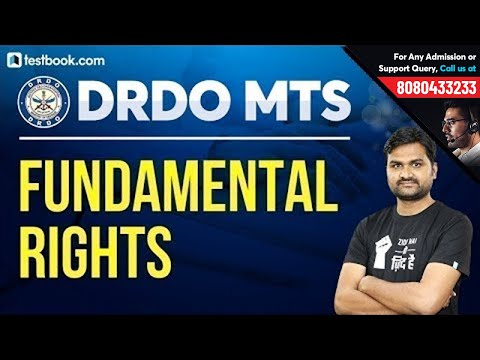 Fundamental Rights in Indian Constitution | GK for DRDO MTS 2020 by Pankaj Sir | DRDO MTS Classes