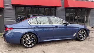 BMW 530i 파이토닉 블루 후퍼옵틱 프리미엄 나노세…