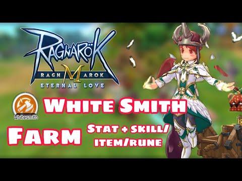 [Ragnarok M] - Guide Whitesmith สาย ฟาม (สเตตัส/สกิล/รูน/ของสวมใส่)
