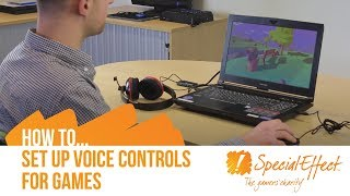 How To Set Up Voice Controls for Games on PC