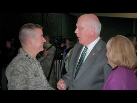 Postcards From Home - Senator Patrick Leahy and Marcelle Leahy Thank Troops
