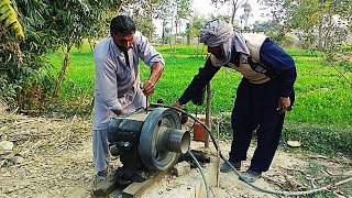 Punjab Village Diesel Engine | Tubewell Technology | Peetar | Agriculture in Pakistan