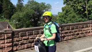 RNZ-Sommertour 2017: Heidelberg-Rundfahrt per Segway