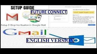 G-Suite-Konto Aktivieren 2-Schritt-überprüfung, Erstellen App-Passwort, Outlook-Konfiguration (2018)ENGLISCH