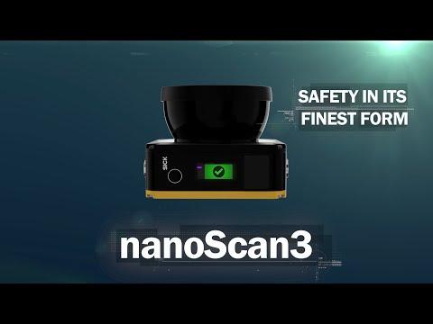 NanoScan3 From SICK: The World's Smallest Safety Laser Scanner | SICK AG