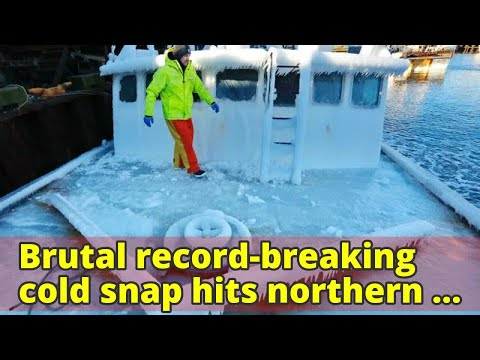 Brutal record-breaking cold snap hits northern United States and Canada