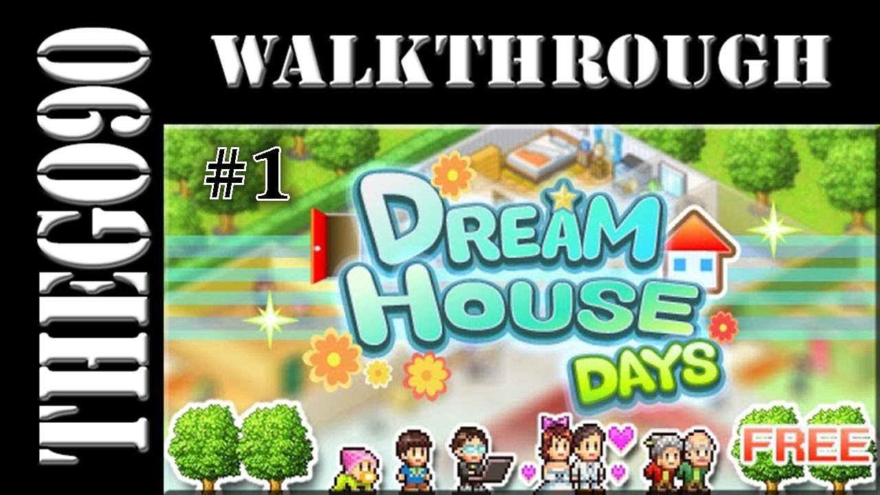[Walkthrough] Dream House Days [1] Erstaustattung Unserer Wohnungen    YouTube