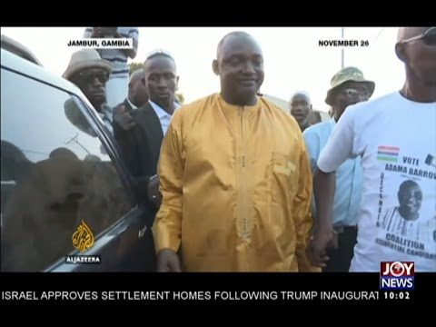 A  New Dawn in The Gambia - News Desk on Joy News (23-1-17)