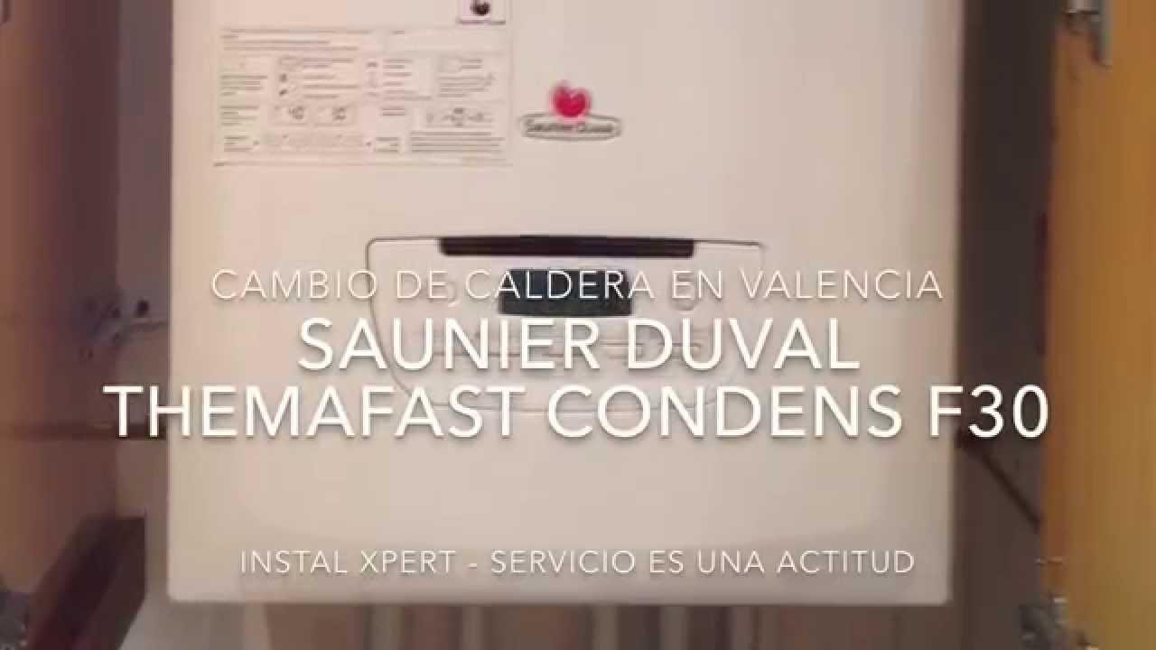Plan renove de caldera en valencia instal xpert saunier for Precio caldera saunier duval themafast condens f30