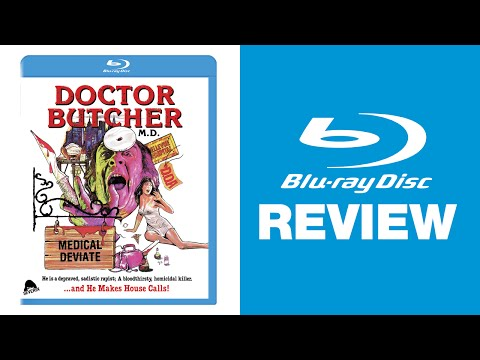 Doctor Butcher MD / Zombie Holocaust Blu-ray Review | Severin Films