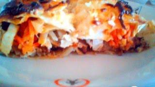 Шашлык   ролл а ля шаурма  Турецкая кухня