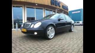 59-SK-VX: Mercedes-Benz E-Klasse 200 Cdi 2.2 *Airco/Clima,Navi,PDC*