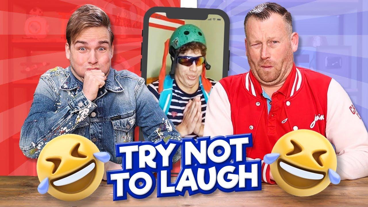 TRY NOT TO LAUGH met MARCEL!