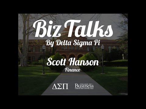 Biz Talks 2015 - Scott Hanson