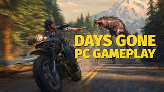 18 Minutes of Days Gone PC Gameplay