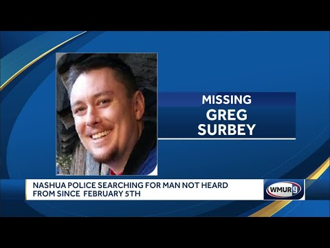 Nashua police search for man not heard from since Feb. 5
