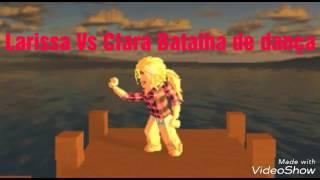 Tanzschlacht bei Roblox Larissa vs Clara