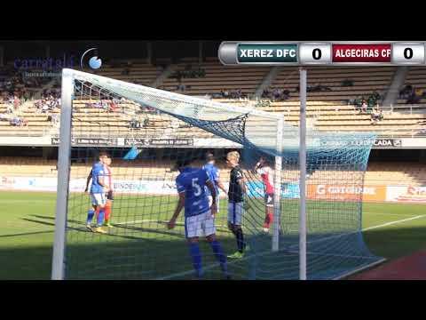FÚTBOL XEREZ DEPORTIVO FC 0 ALGECIRAS CF 0