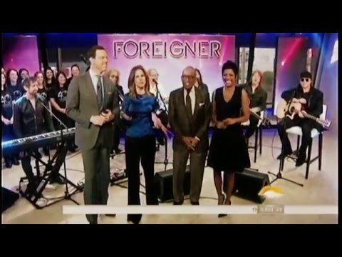 Foreigner Performs on the TODAY Show - February 11, 2016