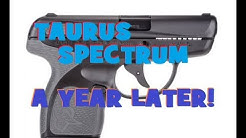 TAURUS SPECTRUM 380- 500 Rounds and  year Later!