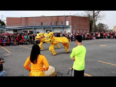 Chinese New Year Celebration Atlanta Georgia Old Peachtree rd Atlanta Music DJ