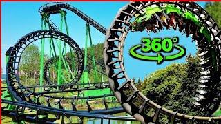 Roller Coaster 360 VR Video - SpeedSnake in Germany