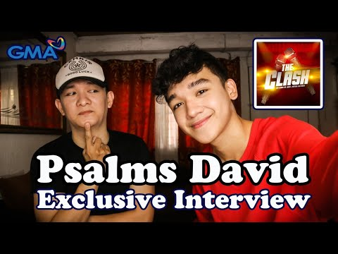 PSALMS DAVID | GMA's The Clash | Exclusive Interview