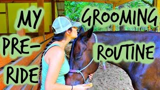 My Pre Ride Grooming Routine