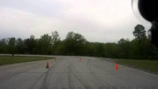 عبير بطيخي في سباق السرعة في مونتريال كندا - الجولة الأخيرة في أول سباق