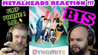 METALHEADS & K POP !! | BTS - DYNAMITE 🧨 | Metalheads Reaction