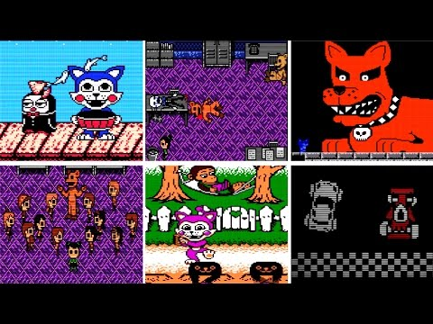 Five Nights At Candy's 3 ALL MINIGAMES