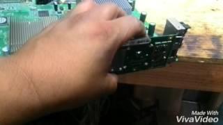 Reparacion 3 luces rojas error 0020 y 0021 solucion reballing