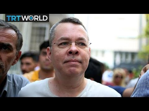US sanctions ministers after Turkey refuses to release US pastor Andrew Brunson