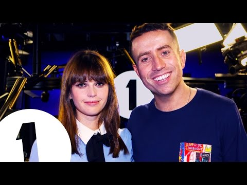 BBC Radio 1 Breakfast show: Movies & Megastars - Felicity Jones