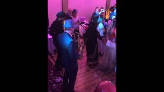 Indian Wedding entrance with saxophone & dhol drum