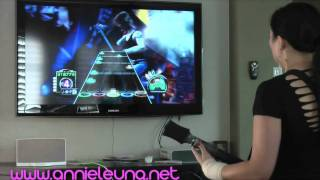 2011 Guinness World Record Guitar Hero III (Female)- Annie