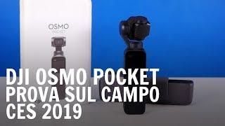 DJI Osmo Pocket: alla prova sul campo al CES di Las Vegas