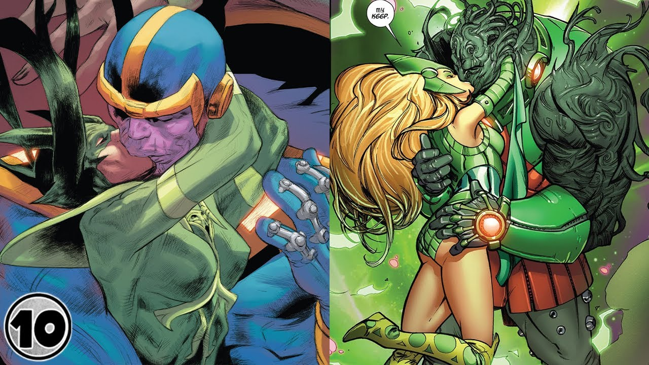 Nerd  Top 10 Strangest Super Villain Couples - Part 2