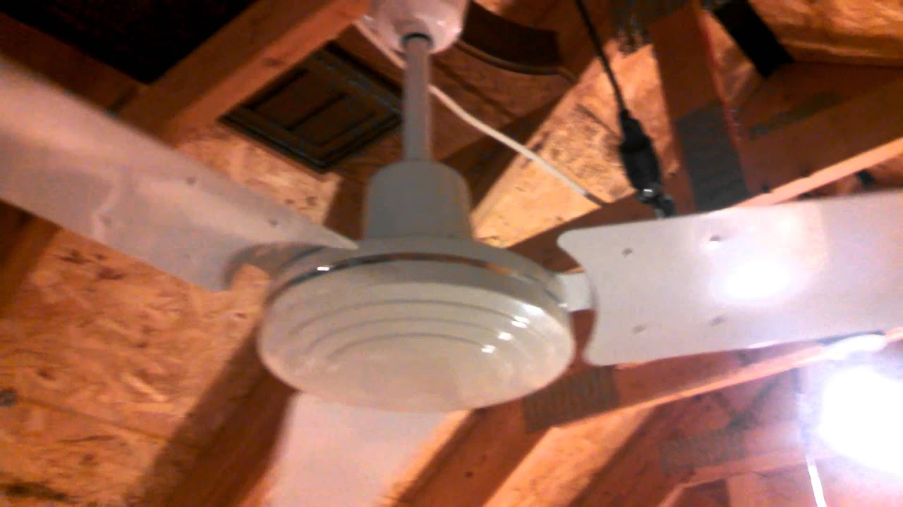 Contech Industrial mercial Ceiling Fan white 60 inch c 2005