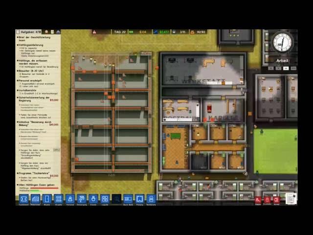 Let's Play Prison Architect | Erweiterung ! | Folge #016
